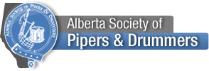 Alberta Society of Pipers and Drummers Logo